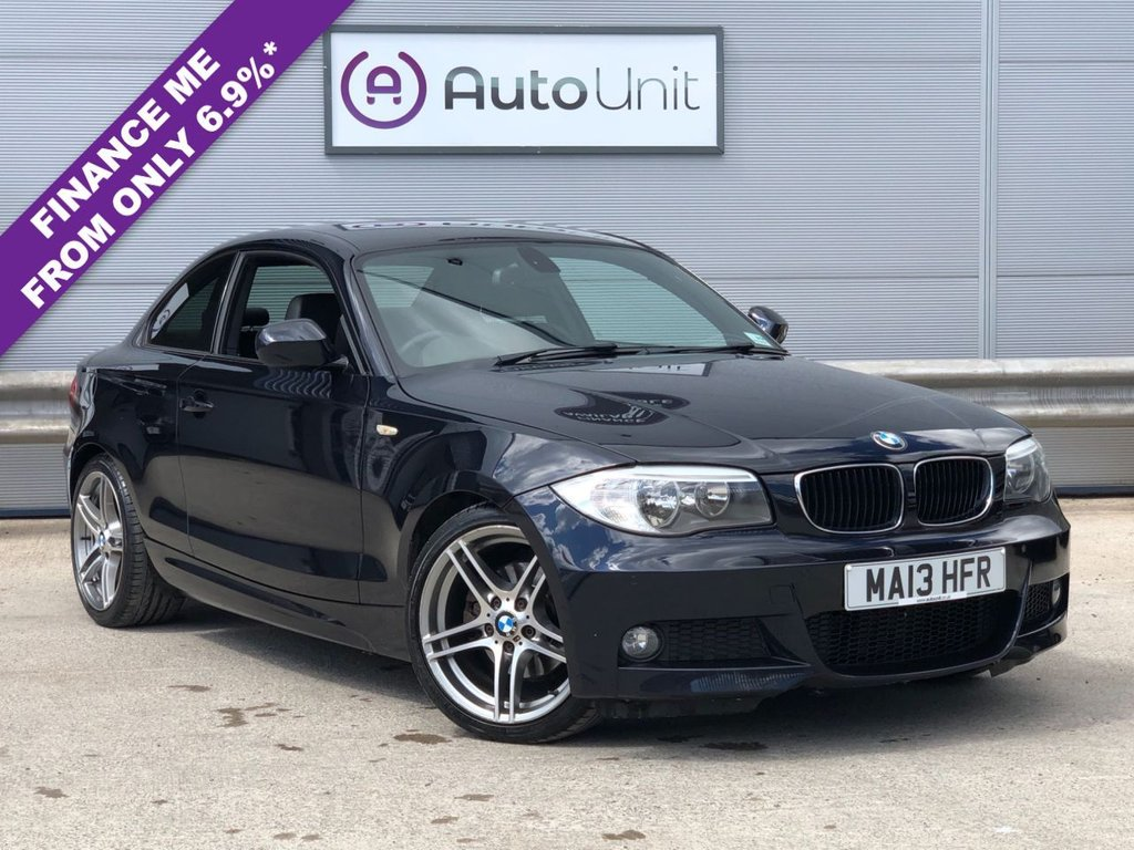 USED 2013 13 BMW 1 SERIES 2.0 120D SPORT PLUS EDITION 2d 175 BHP COMPREHENSIVE HISTORY | LEATHER SPORTS SEATS | DAB | BLUETOOTH