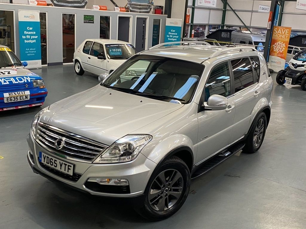 USED 2015 65 SSANGYONG REXTON 2.0 EX 5d 153 BHP 1 Owner From New