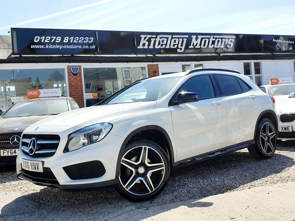 USED 2016 16 MERCEDES-BENZ GLA-CLASS 2.1 GLA 200 D AMG LINE 5d 134 BHP NIGHT PACKAGE