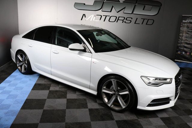 USED 2015 65 AUDI A6 LATE 2015 AUDI A6 2.0 TDI ULTRA S LINE BLACK EDITION STYLE AUTO 188 BHP (FINANCE AND WARRANTY)