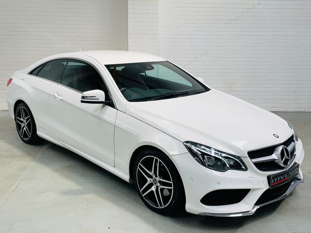 USED 2015 15 MERCEDES-BENZ E-CLASS 2.1 E250 CDI AMG LINE 2d 201 BHP COMAND Online|LEDs|Red Leather|FINANCE