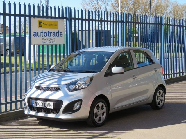 USED 2013 13 KIA PICANTO 1.0 1 5d 68 BHP £0 Road Tax,Low Insurance,Electric Windows,Front Fog Lights