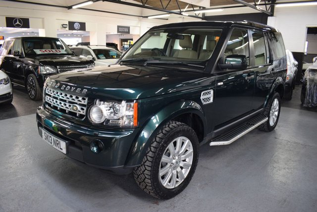 USED 2013 13 LAND ROVER DISCOVERY 4 3.0 4 SDV6 XS 5d 255 BHP STUNNING CONDITION - 3.0 SDV6 XS - ONE PREVIOUS KEEPER - LR S/H + PRE DELIVERY - LEATHER - NAV - HEATED SEATS - HARMAN KARDON SPEAKERS