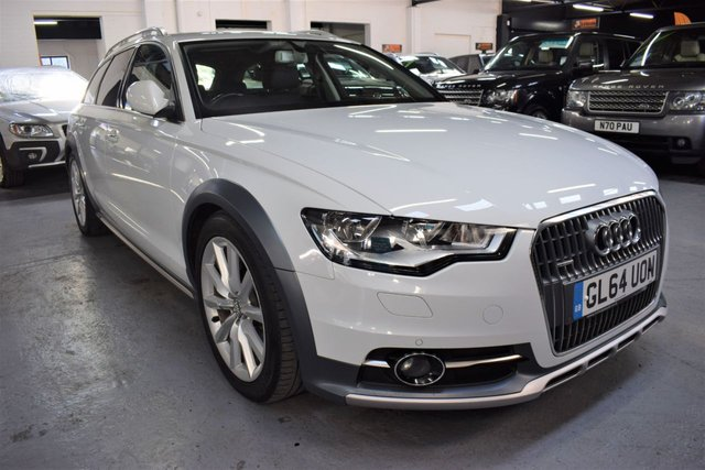 USED 2014 64 AUDI A6 AllRoad 3.0 ALLROAD TDI QUATTRO 5d 201 BHP STUNNING CONDITION THROUGHOUT - 4 AUDI SERVICE STAMPS TO 46K - LEATHER - NAV - HEATED SEATS - PRIVACY GLASS - 19 INCH ALLOYS