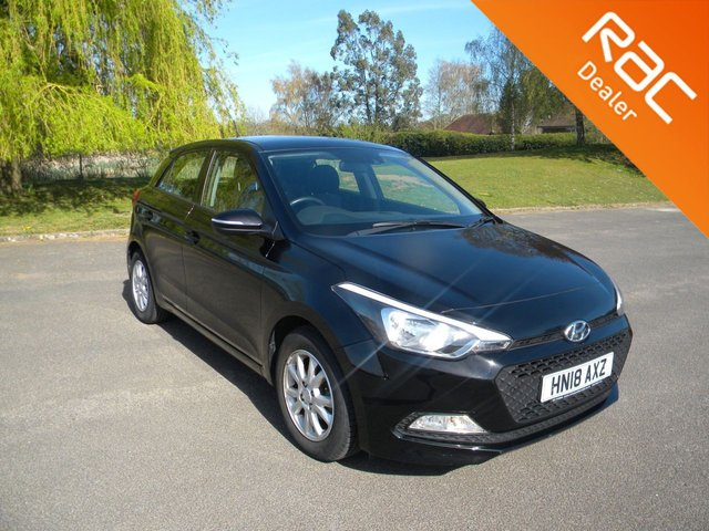 USED 2018 18 HYUNDAI I20 1.2 MPI SE 5d 83 BHP BY APPOINTMENT ONLY - Still Under Hyundai Warranty! Rear Parking Sensors, Cruise Control, DAB, AUX & USB Input, Air Con