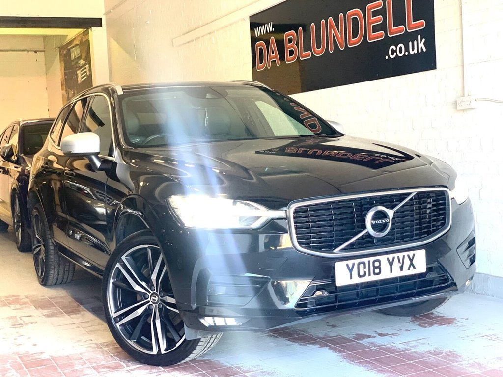 "USED 2018 18 VOLVO XC60 2.0 D5 POWERPULSE R-DESIGN PRO AWD 5d 231 BHP 21""ALLOYS+H.STEERING WHEEL+FSH"