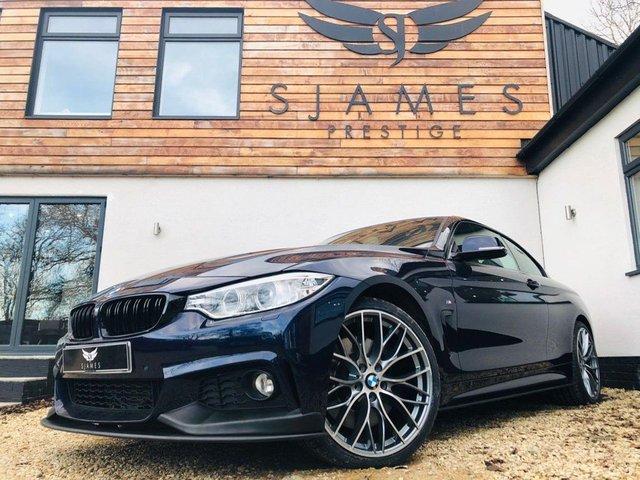 2017 67 BMW 4 SERIES 2.0 420I M SPORT 2d AUTO 181 BHP