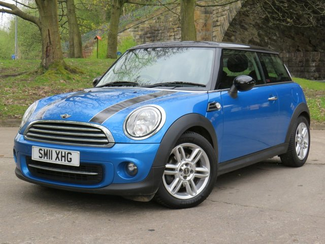 USED 2011 11 MINI HATCH COOPER 1.6 COOPER PIMLICO 3d 121 BHP