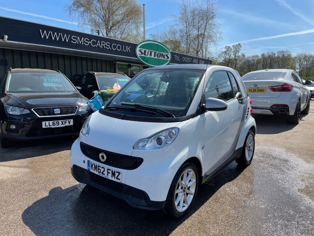 USED 2012 62 SMART FORTWO 1.0 PURE MHD 2d 61 BHP