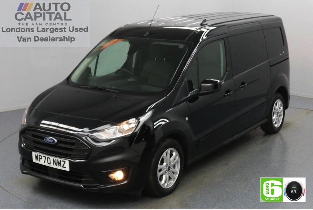 USED 2020 70 FORD TRANSIT CONNECT 1.5 240 Limited EcoBlue Auto 120 BHP L2 LWB 3 Seats Low Emission Automatic Gearbox | Keyless Go | Air conditioning | Auto Start-Stop system | Rear parking distance sensors
