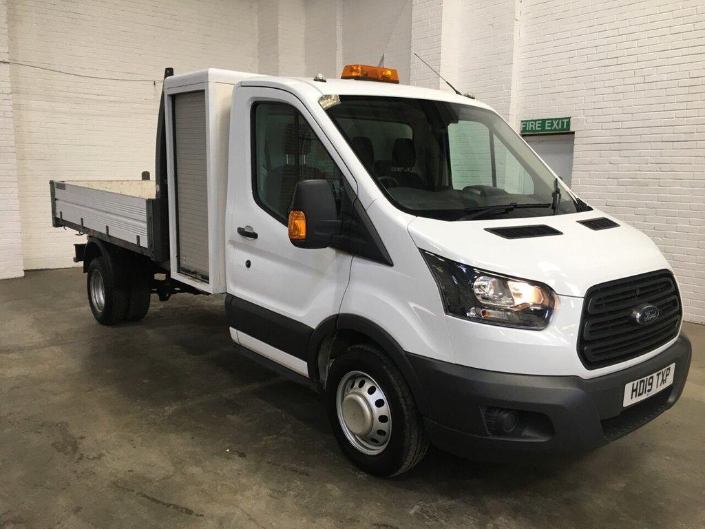 USED 2019 19 FORD TRANSIT TIPPER T/POD 350 L3 RWD DRW 130ps 2.83m BED