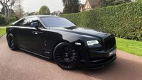 USED 2021 ROLLS-ROYCE WRAITH 6.6 V12 Auto 2dr FULL ONYX CARBON  EDITION+MORE