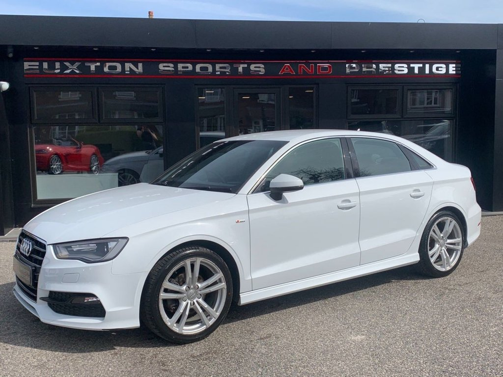 USED 2015 65 AUDI A3 1.4 TFSI CoD S line S Tronic (s/s) 4dr Full Audi Service History