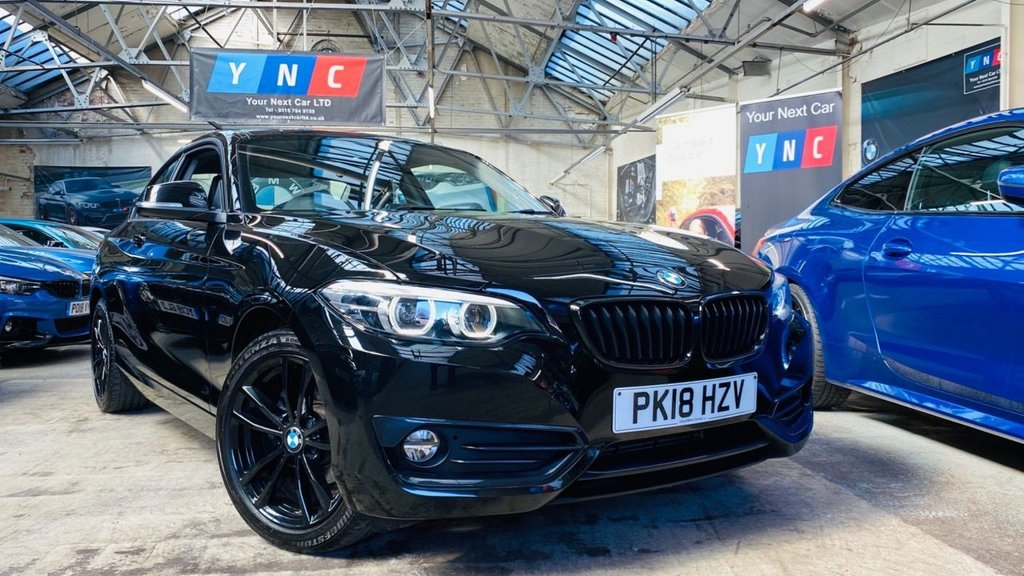 USED 2018 18 BMW 2 SERIES 1.5 218i Sport (s/s) 2dr PERFORMANCEKIT+FACELIFT+SPORT
