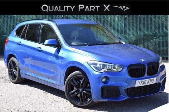 USED 2016 16 BMW X1 2.0 20d M Sport Auto xDrive (s/s) 5dr SATNAV,XENON,SENSORS,HEATED