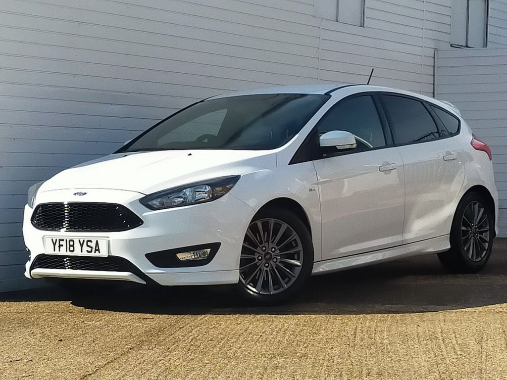 USED 2018 18 FORD FOCUS 1.5 ST-LINE 5d 148 BHP Buy Online Moneyback Guarantee