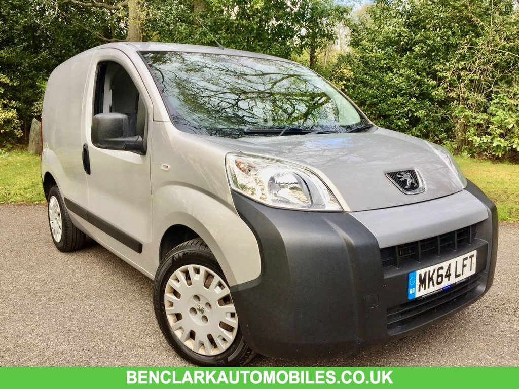 USED 2014 64 PEUGEOT BIPPER 1.2 HDI SE 5d 75 BHP  + VAT //WOOD PANELLED//GREAT CONDITION GREAT CONDITION FOR THE YEAR INSIDE AND OUT ,,JUST SERVICED BY US