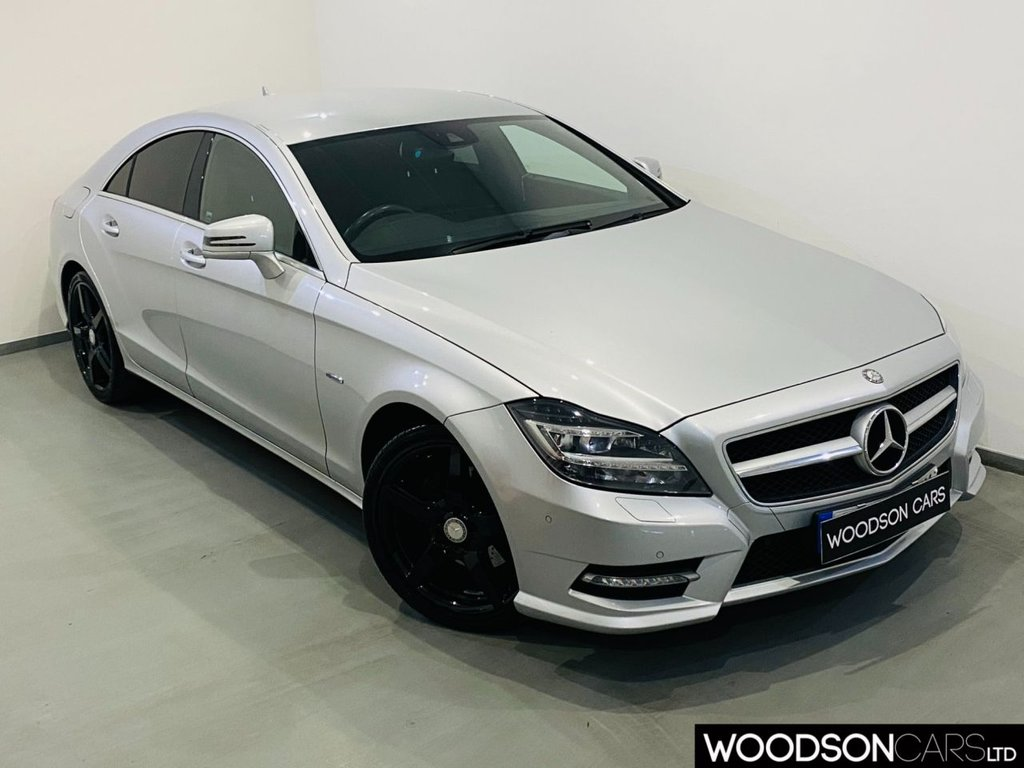 USED 2012 12 MERCEDES-BENZ CLS CLASS 2.1 CLS250 CDI SPORT AMG 4d 204 BHP Sat Nav / DAB Radio / Bluetooth / Heated Leather / Privacy Glass