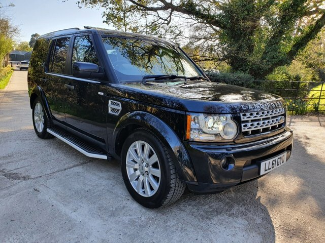 2011 61 LAND ROVER DISCOVERY 3.0 4 SDV6 HSE 5d 255 BHP