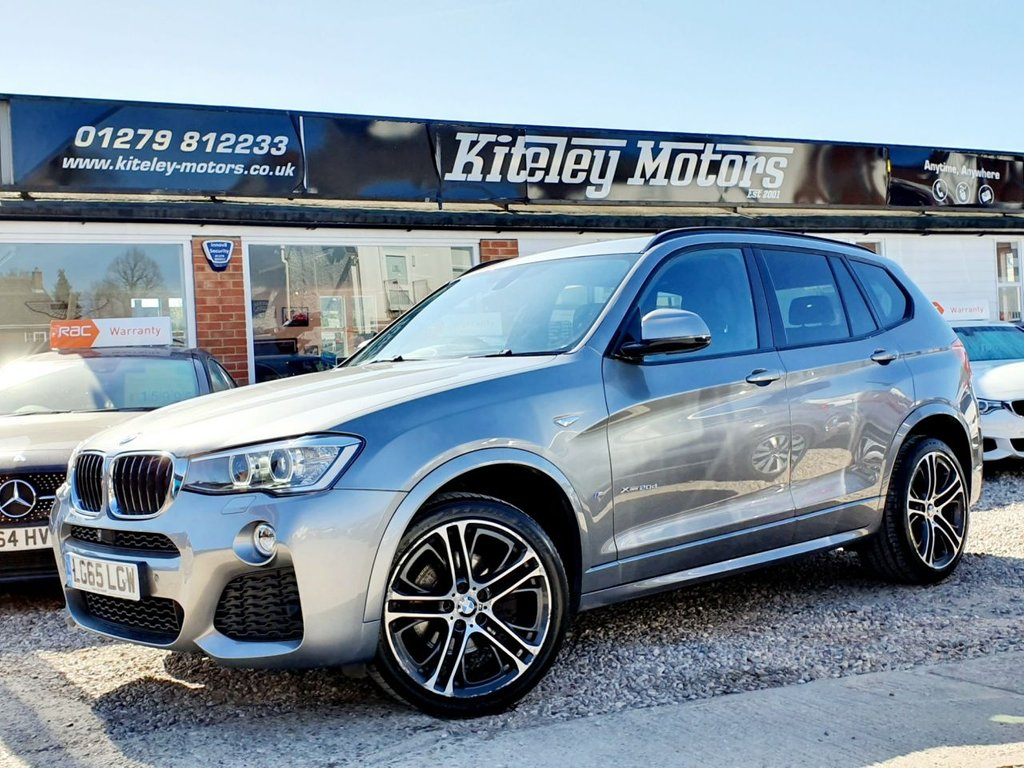USED 2015 65 BMW X3 2.0 XDRIVE20D M SPORT AUTO HUGE SPECIFICATION
