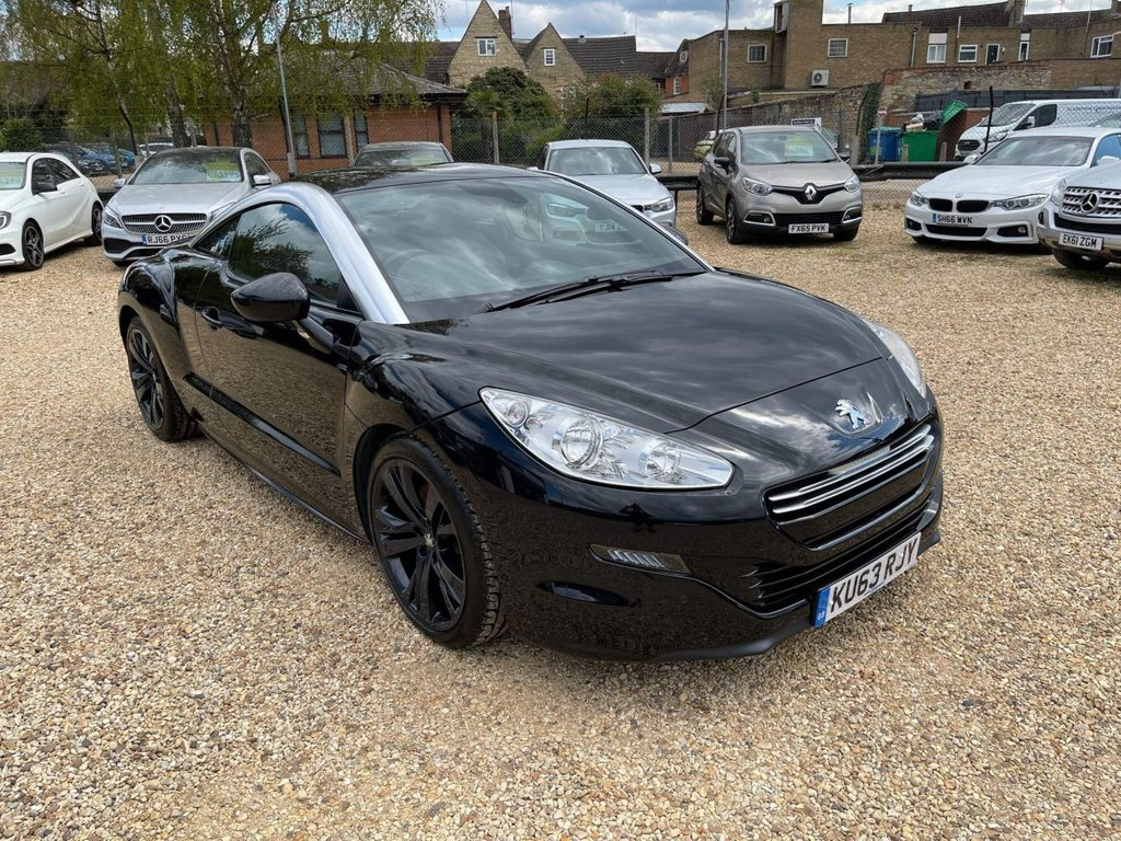 USED 2013 63 PEUGEOT RCZ 2.0 HDi GT 2dr Full Leather & 7 Service's
