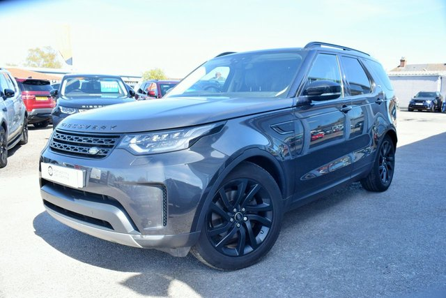 2018 18 LAND ROVER DISCOVERY 5 3.0 COMMERCIAL TD6 HSE 255 BHP BLACK PACK