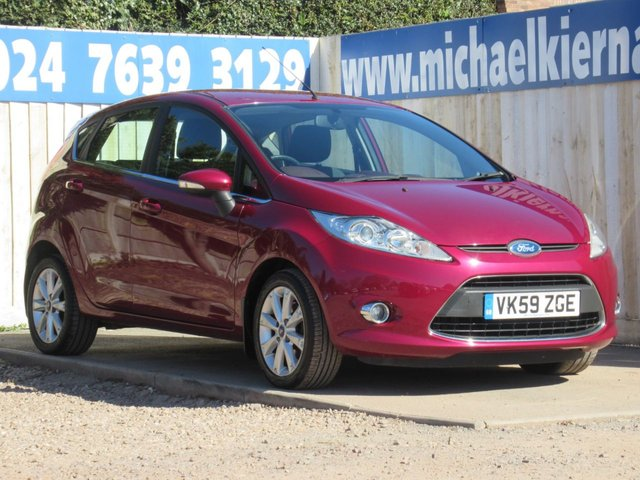 USED 2009 59 FORD FIESTA 1.4 ZETEC 16V 5d 96 BHP AUTOMATIC