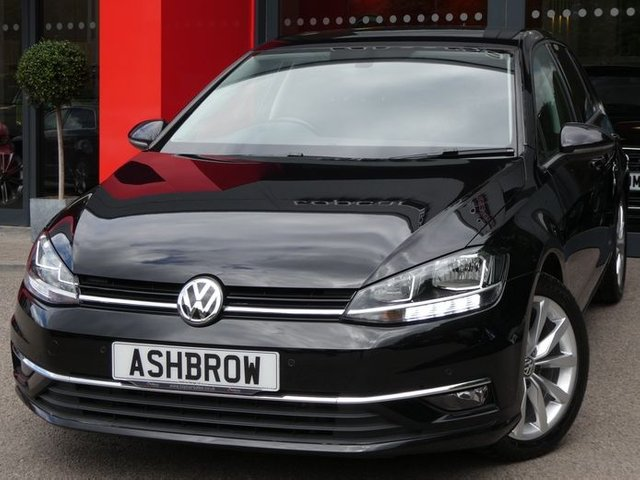 USED 2018 18 VOLKSWAGEN GOLF 2.0 TDI GT BLUEMOTION TECH DSG 5d 150 S/S 1 OWNER, SAT NAV, APP CONNECT FOR APPLE CARPLAY ANDROID AUTO & MIRROR LINK, PARK PILOT FRONT & REAR PARKING SENSORS WITH DISPLAY, DAB DIGITAL RADIO, BLUETOOTH PHONE & AUDIO STREAMING, ADAPTIVE CRUISE CONTROL WITH FRONT ASSIST, FRONT FOG LIGHTS, ELECTRIC FOLDING HEATED MIRRORS, AUX & USB, LEATHER FLAT BOTTOM TIPTRONIC MULTIFUNCTION STEERING WHEEL, AUTO HOLD, AUTO LIGHTS & WIPERS, AIR CONDITIONING, ILLUMINATING VANITY MIRRORS, LED INTERIOR LIGHTS, MANOEUVRE BRAKING, SERVICE HISTORY, VAT QUALIFYING