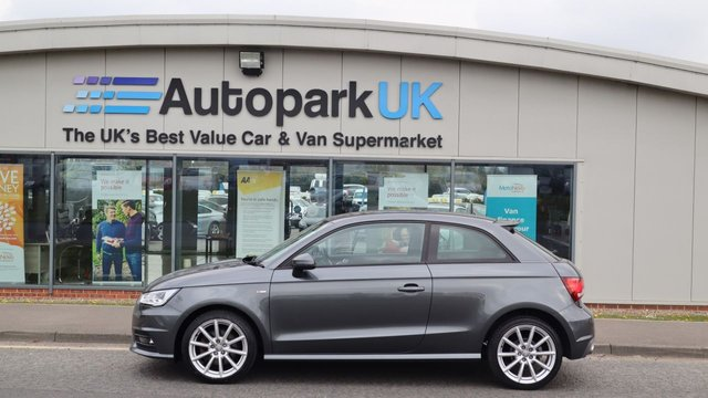 USED 2015 15 AUDI A1 1.6 TDI S LINE 3d 114 BHP LOW DEPOSIT OR NO DEPOSIT FINANCE AVAILABLE . COMES USABILITY INSPECTED WITH 30 DAYS USABILITY WARRANTY + LOW COST 12 MONTHS ESSENTIALS WARRANTY AVAILABLE FROM ONLY £199 (VANS AND 4X4 £299) DETAILS ON REQUEST. ALWAYS DRIVING DOWN PRICES . BUY WITH CONFIDENCE . OVER 1000 GENUINE GREAT REVIEWS OVER ALL PLATFORMS FROM GOOD HONEST CUSTOMERS YOU CAN TRUST .