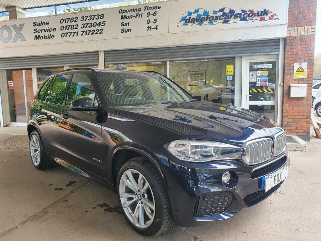 USED 2017 67 BMW X5 2.0 XDRIVE40E M SPORT 5d AUTO 242 BHP