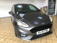 USED 2018 18 FORD FIESTA 1.0 ST-LINE X 3d 5 Seat Family Sports Hatchback with Great High Spec Very Low Mileage Ready to Finance and Drive Away Today Sporty Ford Fiesta ST-Line X