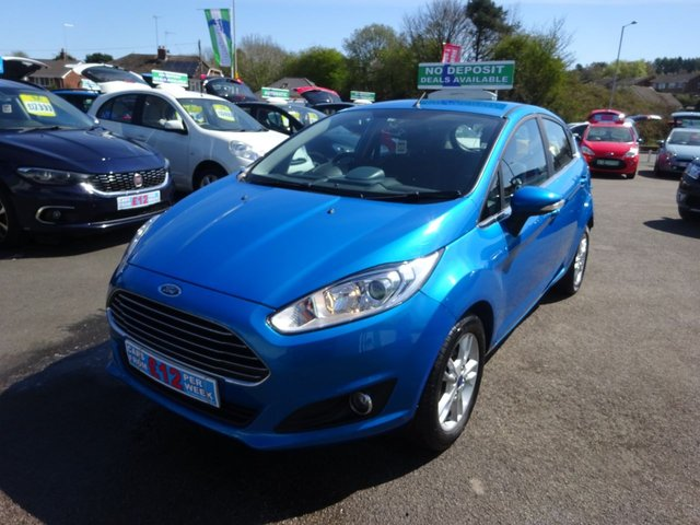 USED 2015 64 FORD FIESTA 1.2 ZETEC 5d 81 BHP **BOOK YOUR TEST DRIVE TODAY !!**