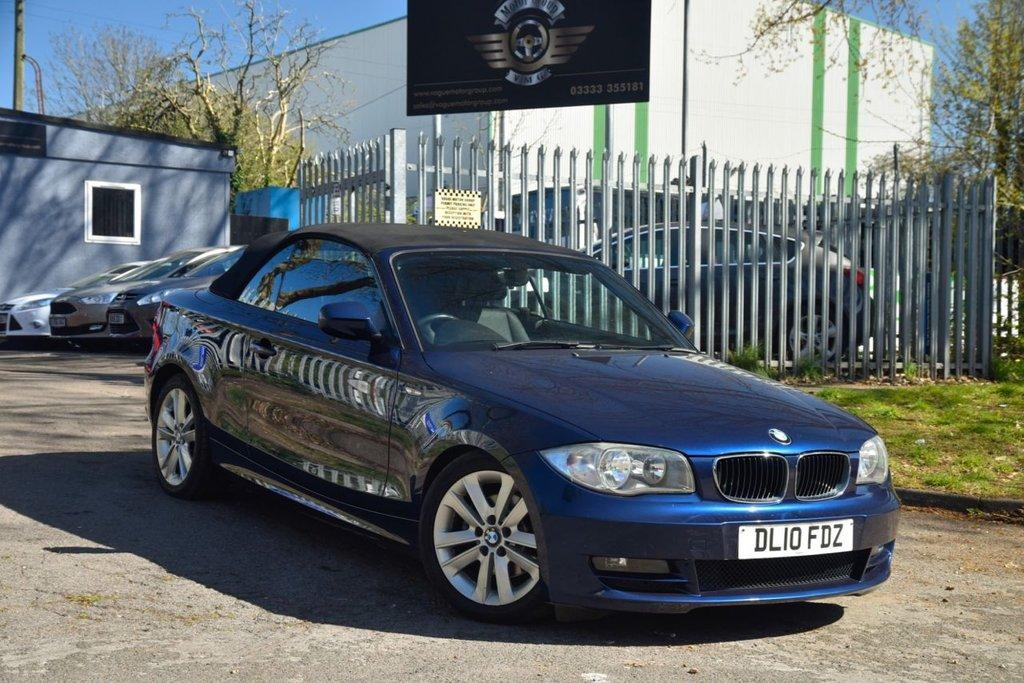 USED 2010 10 BMW 1 SERIES 2.0 120D SE 2d 175 BHP