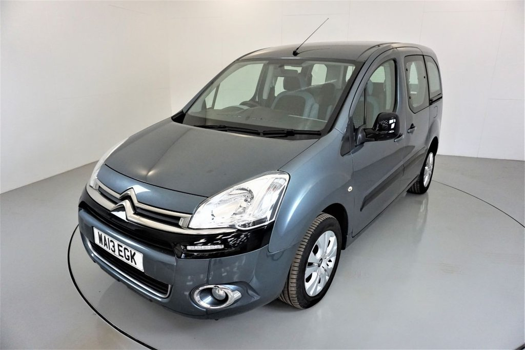 USED 2013 13 CITROEN BERLINGO MULTISPACE 1.6 HDI PLUS 5d-2 FORMER KEEPERS-WHEEL CHAIR ACCESS-AIR CONDITIONING-ALLOY WHEELS-REAR PARKING SENSORS