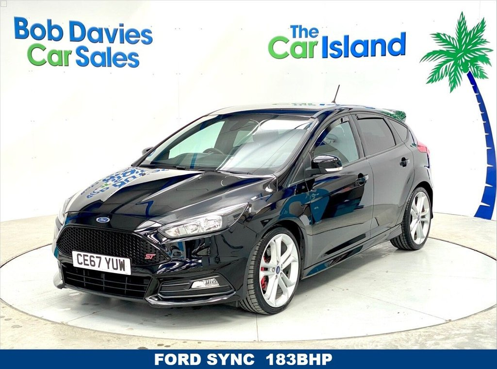 USED 2017 67 FORD FOCUS 2.0 ST-2 TDCI 5d 183 BHP Full Service History Low Miles 183BHP