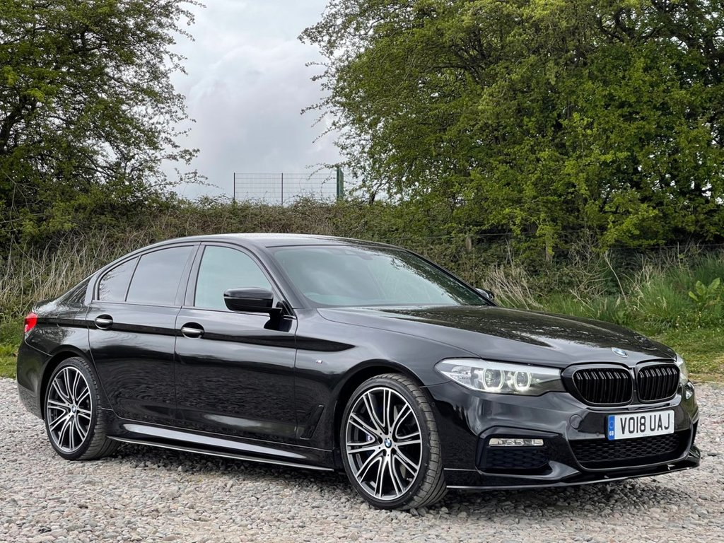 USED 2018 18 BMW 5 SERIES 3.0 540I XDRIVE M SPORT 4d 335 BHP Free Next  Day Nationwide Delivery