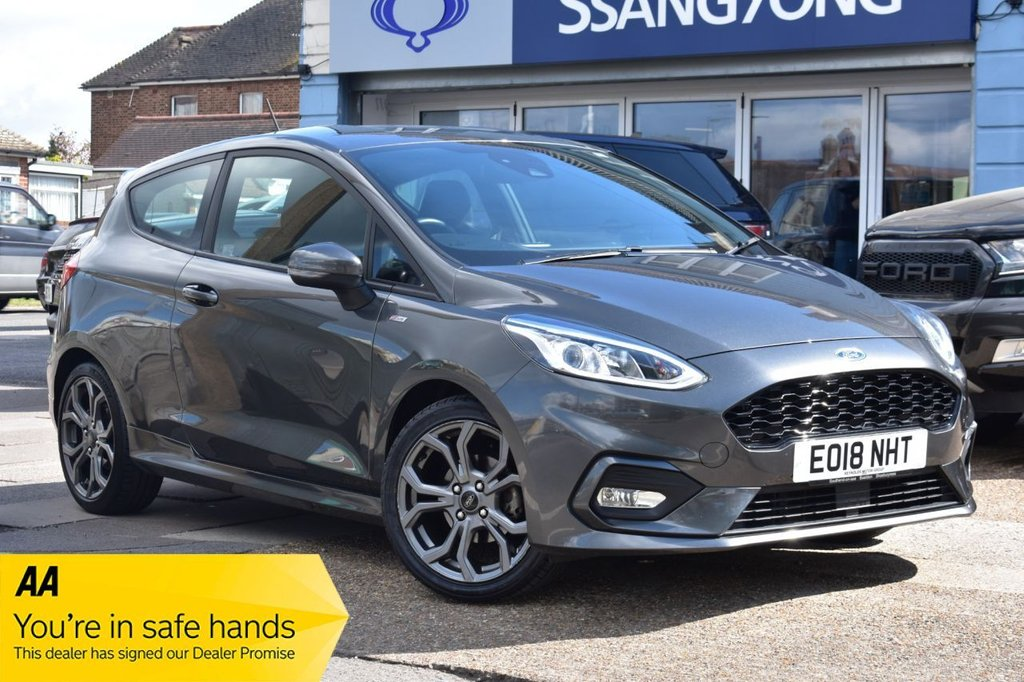 USED 2018 18 FORD FIESTA 1.0 ST-LINE 3d 138 BHP AVAILABLE FOR £245 PER MONTH £0 DEPOSIT