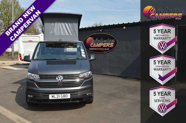 USED 2021 21 VOLKSWAGEN TRANSPORTER LUXURY CAMPERVAN - 4 BERTH, T6.1 109 BHP Luxury, 4 Berth Campervan with 5 Year Warranty + 5 Year Free Servicing