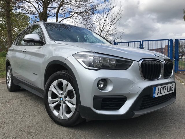 "USED 2017 17 BMW X1 2.0 SDRIVE18D SE 5d AUTO with ACTIVE CRUISE 2 KEYS+1 OWNER FROM NEW+FSH+£30 ROAD TAX+AUTO BOOT LID OPERATION+NAVIGATION+17""ALLOYS+PARKING SENSORS+CLIMATE+BLUETOOTH+MEDIA+DAB+USB+AUX+"