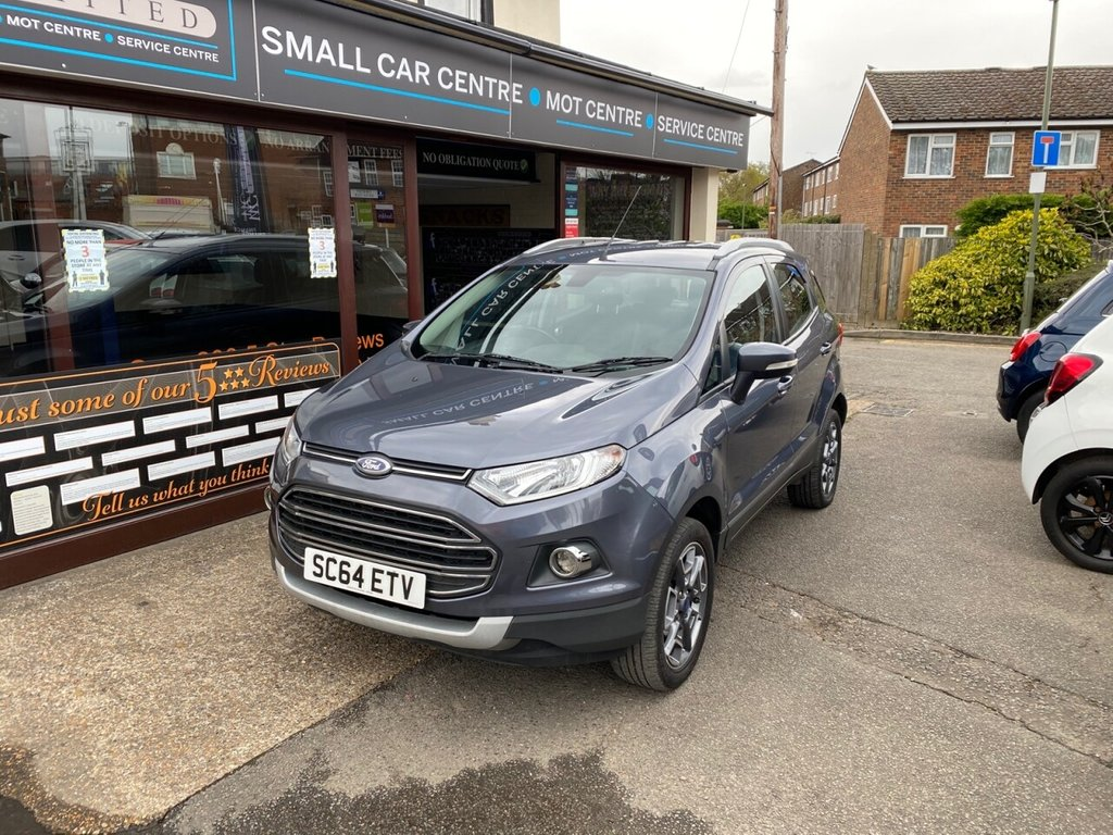 USED 2015 64 FORD ECOSPORT 1.0 TITANIUM X-PACK 5d 124 BHP BLUETOOTH - DAB - USB - AUX - AIRCON - REAR PARKING SENSORS - AUTO LIGHTS