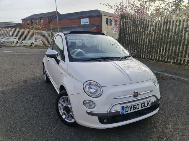 USED 2010 60 FIAT 500C 1.2 LOUNGE 3d 69 BHP A GREAT CONVERTIBLE