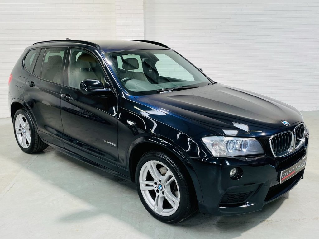 USED 2011 11 BMW X3 2.0 XDRIVE20D M SPORT 5d 181 BHP High Spec|Full Service History|AA Inspected