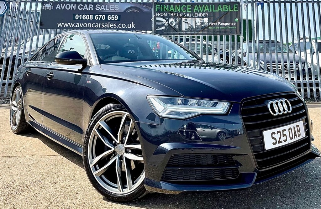 USED 2015 S AUDI A6 2.0 TDI ULTRA BLACK EDITION 4d 188 BHP AUTOMATIC! - FULL AUDI HISTORY! CAMBELT DONE! GEARBOX OIL CHANGE DONE! REG PLATE INCLUDED! FULL LEATHER! SAT NAV! 2 PREV OWNERS!
