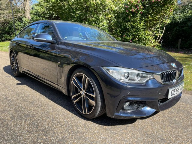 USED 2016 65 BMW 4 SERIES 3.0 430D M SPORT GRAN COUPE 4d 255 BHP