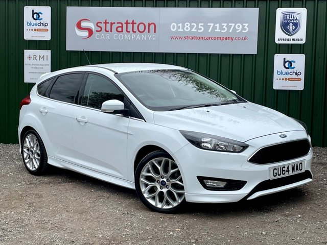 USED 2015 64 FORD FOCUS 1.5 ZETEC S 5d 148 BHP ONLY 35570 MILES