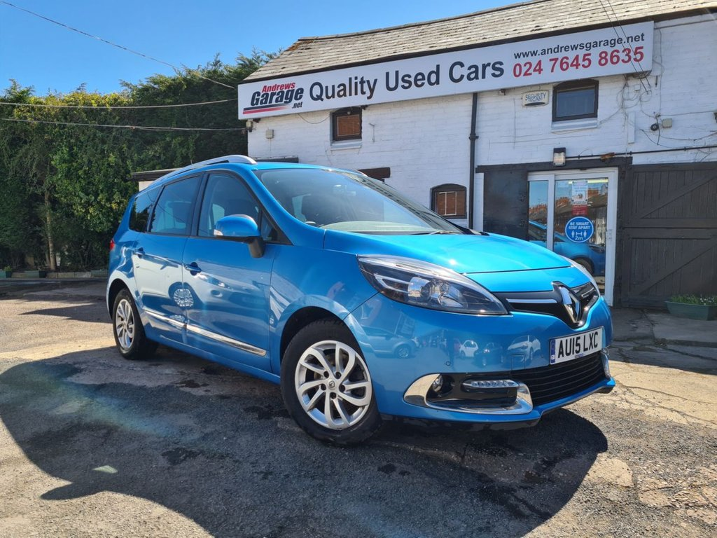USED 2015 15 RENAULT GRAND SCENIC 1.5 DYNAMIQUE TOMTOM DCI EDC 5d AUTO 110 BHP