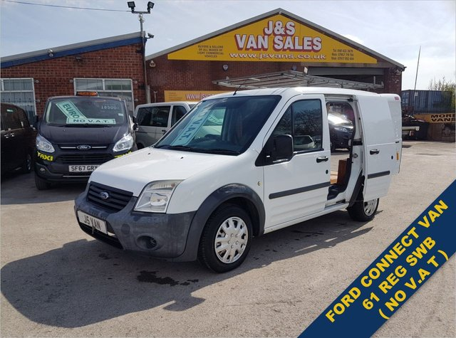 USED 2011 61 FORD TRANSIT CONNECT 1.8 T200 LR SWB 133K MLS ( NO V.A.T TO ADD ) BIG SAVING NO VAT TO ADD