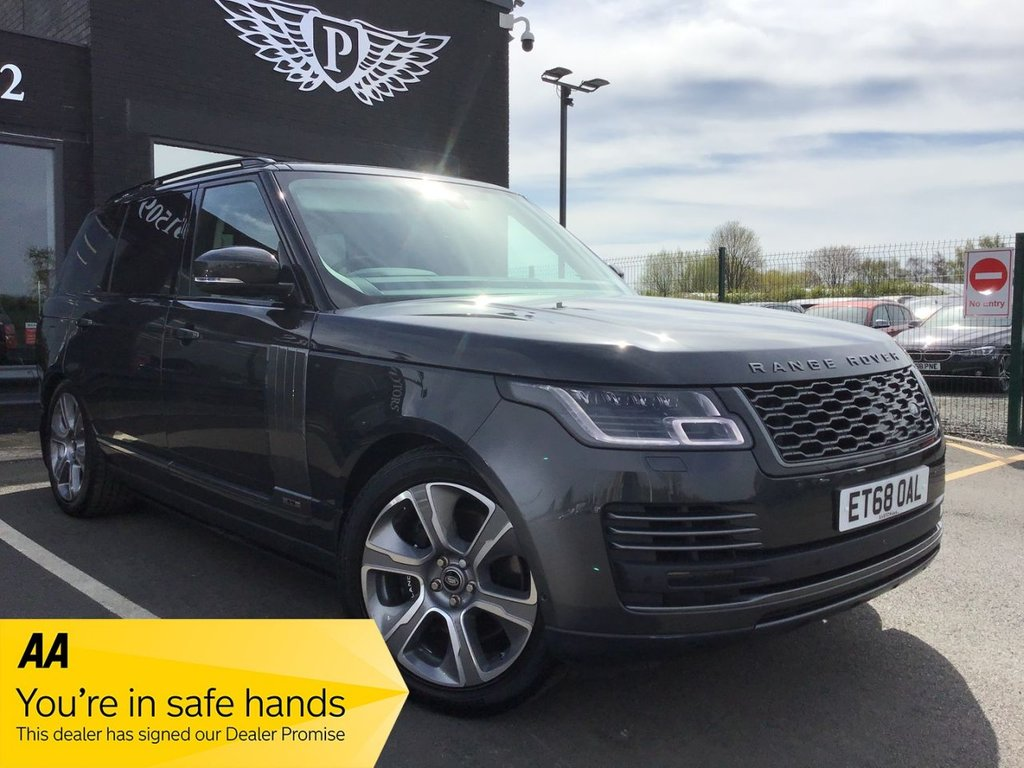 USED 2018 68 LAND ROVER RANGE ROVER 2.0 AUTOBIOGRAPHY 5d 399 BHP