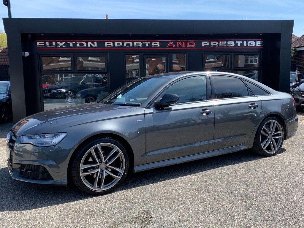 USED 2018 18 AUDI A6 2.0 TDI ultra Black Edition S Tronic (s/s) 4dr Full Audi Service History