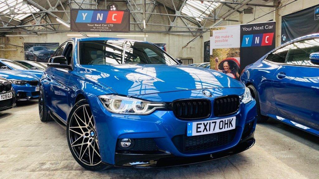 USED 2017 17 BMW 3 SERIES 2.0 320d BluePerformance M Sport Auto (s/s) 4dr PERFORMANCEKIT+20S+PLUSPACK